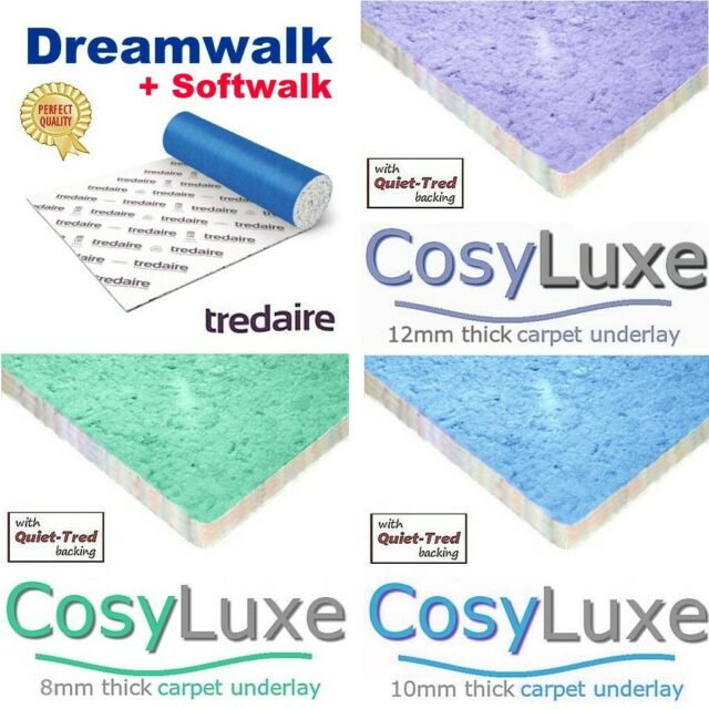 10mm Thick Carpet Underlay 15sqm Rolls Cosi Range Ball Young For Sale Ebay