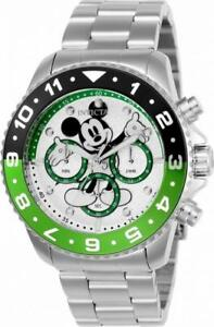 Disney-Limited-Edition-24953-Men-039-s-Round-Analog-Mickey-Mouse-Chronograph-Watch