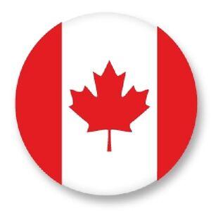 Pin-Button-Badge-25mm-1-034-Drapeau-Flag-Echarpe-Maillot-Canada-CA