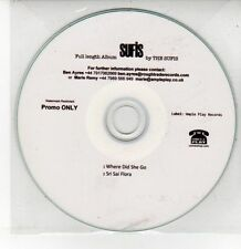 (DQ582) The Sufis, Sufis 2 track sampler - DJ CD