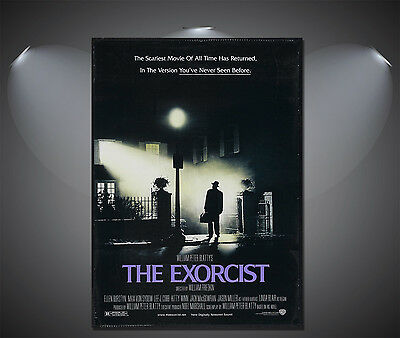 Vintage The Exorcist Movie Poster A3//A2//A1 Print