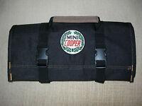 Mini Cooper Logo/austin/morris/rover new All Black Classic Tool Roll