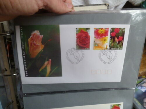 1994 THINKING OF YOU LOVE FLOWERS FIRST DAY COVER