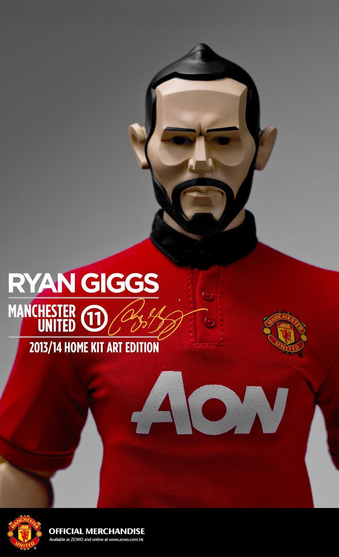 1 6 Zcwo Manchester United Edición de Arte 2013 14 Ryan Giggs Fools Paradise   134