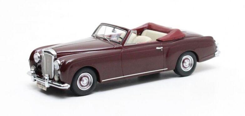 Bentley S 1 Continental Park Ward DHC Cabriolet rosso 1956  Matrix 1 43