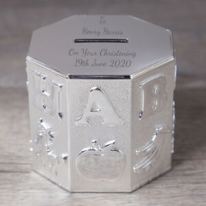 Details About Personalised Abc Money Box Girl For Boy Baby Christening Naming Day Gifts Ideas