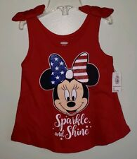 Pink Disney/'s Minnie Mouse Tie Shoulder Tank by Old Navy NWT 2T