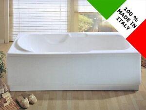 Vasca Da Bagno Vetroresina : Vasca da bagno design nuova rettangolare reversibile 170x70 70x170