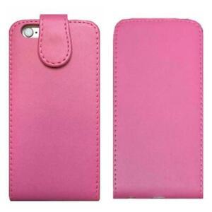 Bonne-qualite-pink-Up-amp-Down-Cuir-Housse-a-rabat-vertical-case-pour-iPhone-6-amp-6-S