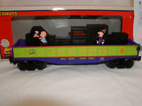 Lionel 6-37082 Halloween Peanuts Trick Treat Operating Gondola Car O 027