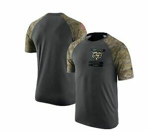 huge selection of d5192 6ab60 Mens Nike NFL Chicago Bears Salute to Service T-shirt Size Medium 809282 060
