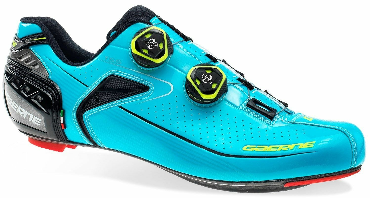 CYCLING SHOES GAERNE CARBON G..CHRONO+ ROAD blueE (retail  450)