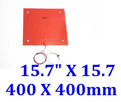 "15.7/"" X 15.7/"" 400 X 400mm 110V 1000W w// 3M w// 100K 3D printer Tronxy X5S heatbed"