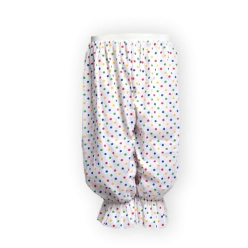PANTO DAME Costume Fancy Dress BLOOMERS CLOWN Trousers Polka Dot Pants Rag Doll