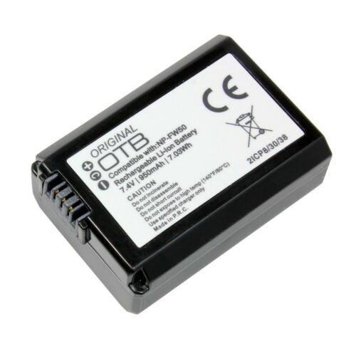 sustituye batería Li-ion batería para cámara Sony dsc-rx10 IV 950mah np-fw50