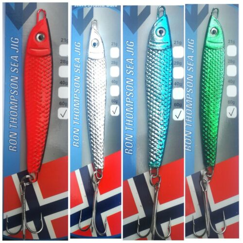 Ron Thompson Dexter Wedge Style Pirk Style Bass Fishing Lure x 4