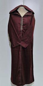 Moroccan men Long Sleeves hooded thobe//jalabiya.jubba.thobes Fit  size 54 /&56