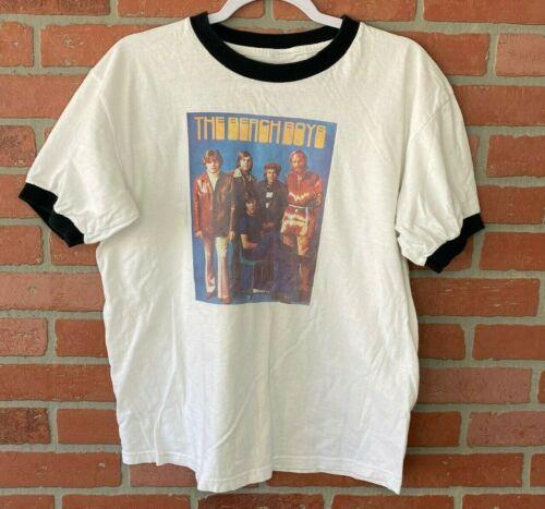 Unbranded T-Shirt Men's Size S White RInger Tee Be