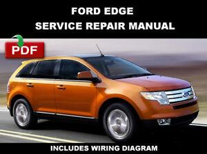 2008 ford edge wiring diagram ford edge 2007 2008 2009 2010 service manual ebay  ford edge 2007 2008 2009 2010 service