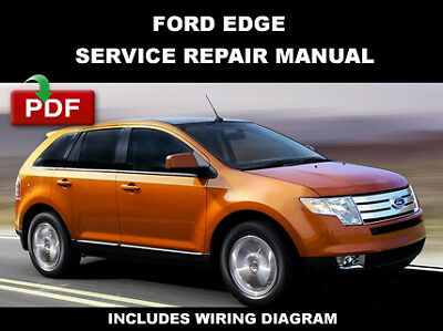 wiring diagram for 2008 ford edge ford edge 2007 2008 2009 2010 service manual ebay  ford edge 2007 2008 2009 2010 service