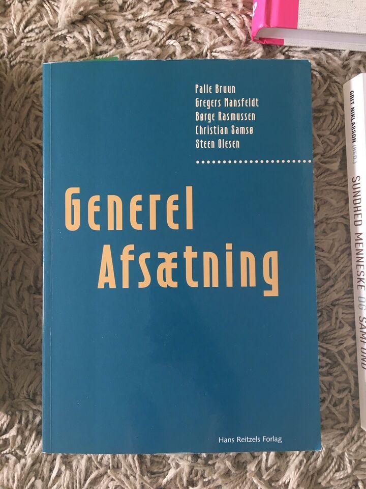 Generel afsætning, Palle Bruun, G. Mansfeldt