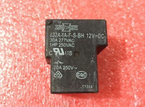 1Pcs Nouveau 832A-1A-F-S-BH 12VDC Relais Song Chuan
