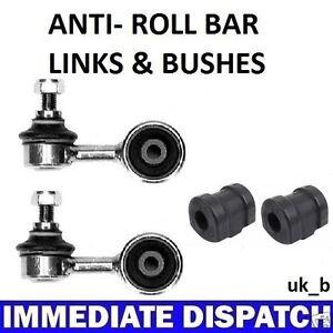 Bmw-316-318-320-323-E30-Frontal-Anti-Roll-Bar-Sway-Bar-2-X-arbustos-amp-2-X-enlaces-Varillas