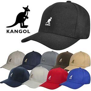 Authentic-Kangol-Men-039-s-Wool-Flex-Fit-Baseball-Cap-Hat-8650BC-S-M-L-XL-XXL-NWT