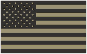 Image is loading American-Flag-Vinyl-Decal-Sticker-Tactical -Subdued-Military- 3bed531414bf