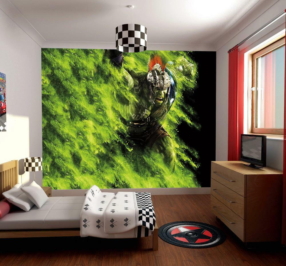 Hulk The Avengers Marvel Photo Wallpaper Woven Self-Adhesive Wall Mural Art M92