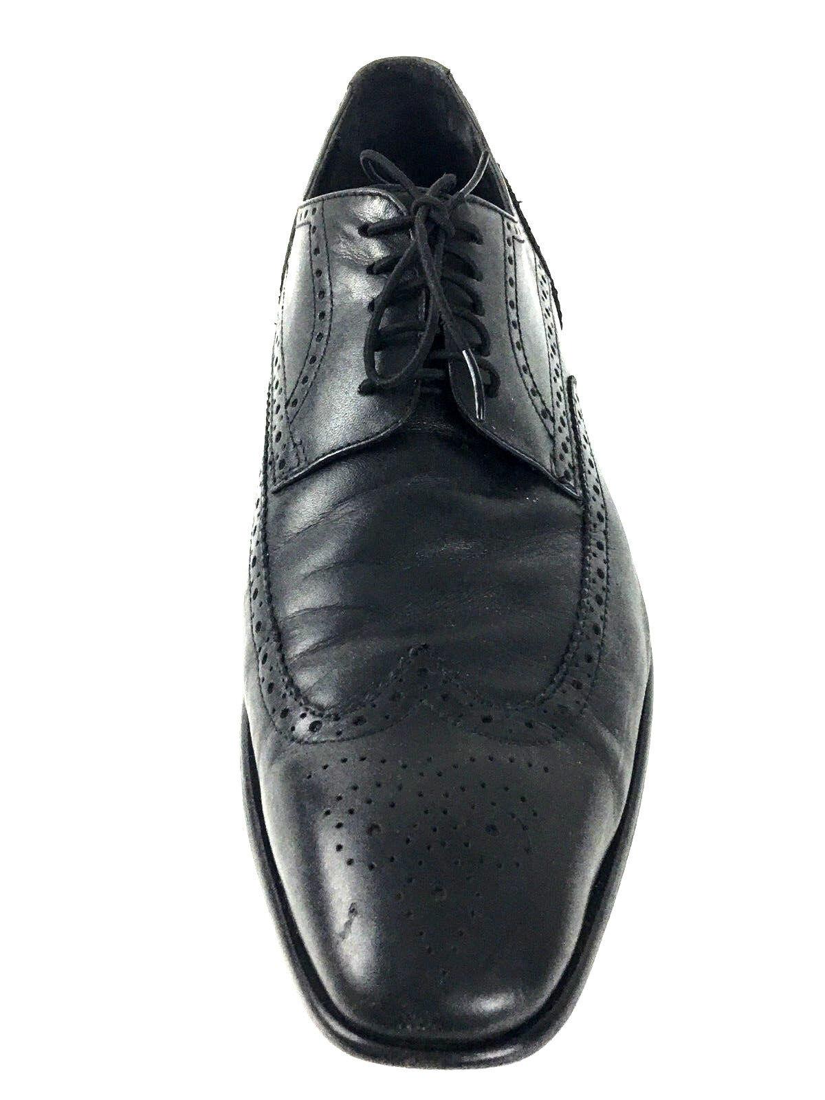Hugo Boss negro Para Hombre Zapato de vestir Oxford Cuero EE. UU.