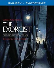 THE EXORCIST 40th Anniversary Blu-ray,3-Disc+Book NEW Director's Cut+Theatrical