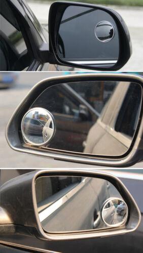 """2 X Blind Spot 2/"""" miroir avec adhésif Ajustement Facile Large Angle de vue de BN UK-Auto 1020"""