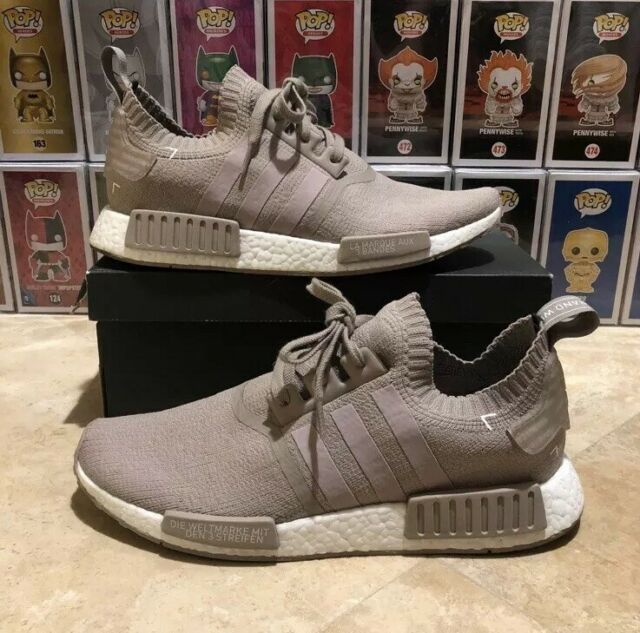 new product f992f fa30f Adidas NMD R1 PK French Beige Tan Size 11 Used S81848