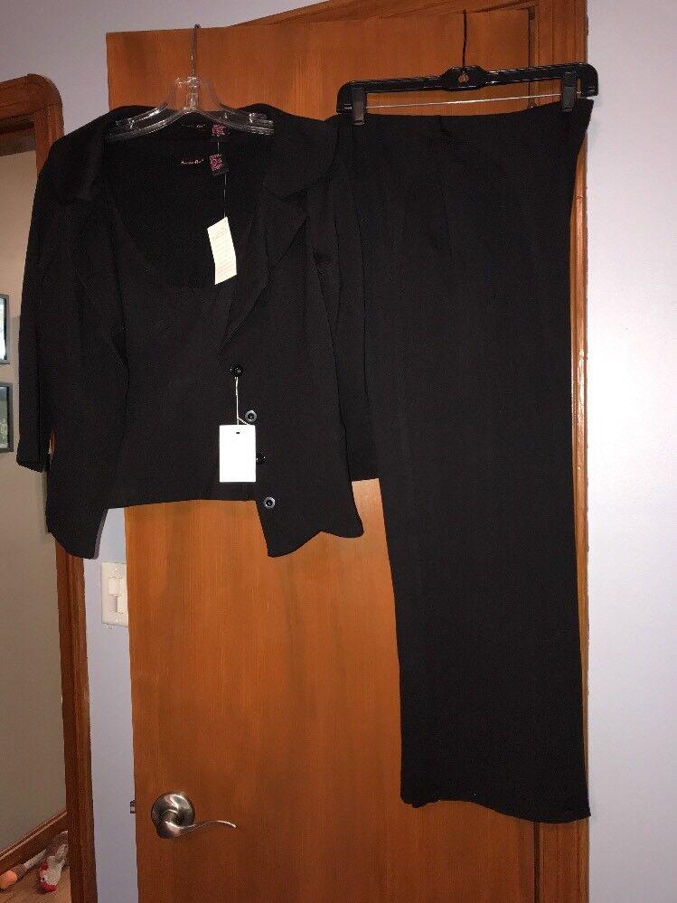 Shape First 3 Piece Brown Suit Size 12P
