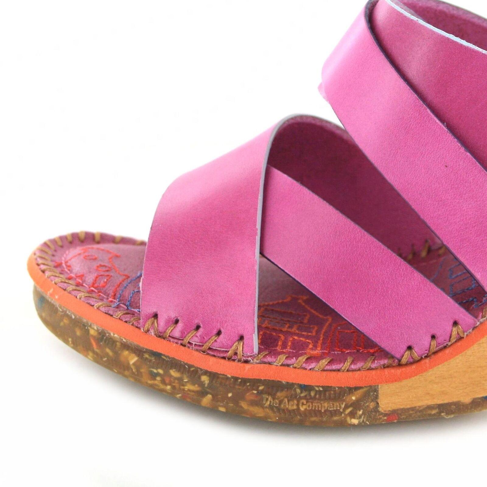 ART 1055 Amsterdam MAGENTA sandalo in in in pelle per donna rosso 164d57