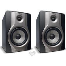 "Pair of M-Audio BX5 Carbon Two Way 5"" Studio Monitors Powered Speakers"
