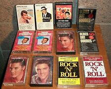 Lot 12 Oldies Audio Cassette Tapes. Elvis Sinatra Dean Martin Fats Domino Rock