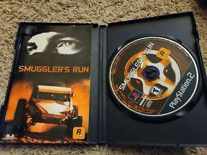 Smuggler-039-s-Run-Sony-PlayStation-2-2002-PS2-Complete-Black-Label-Tested
