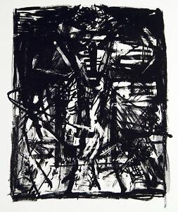 DDR-Kunst-Satan-um-1986-Lithographie-Vera-KOZIK-1961-2015-D-handsigniert