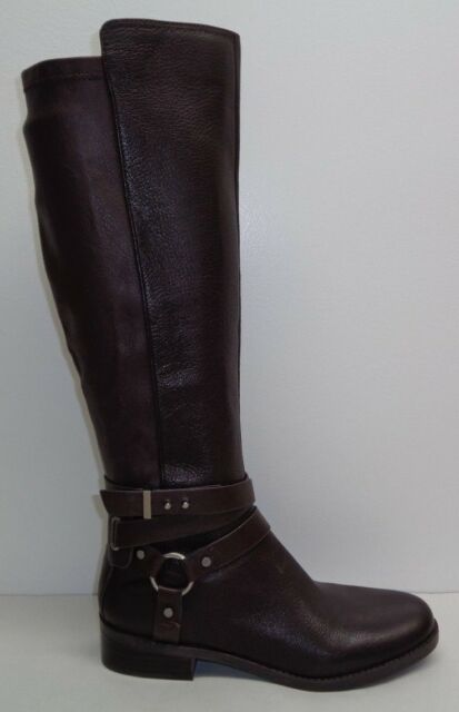 outlet online quality classic shoes BCBG BCBGeneration Size 7.5 KAI Oak Brown Leather Riding Boots New Womens  Shoes
