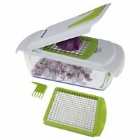 Onion Slicer Vegetable Cutter Tomato Kitchen Fruit Chopper Dicer Peeler Tools