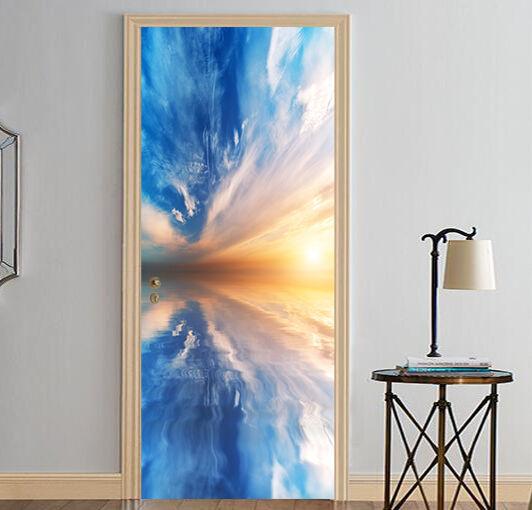 3D Wolken74 Tür Wandmalerei Wandaufkleber Aufkleber AJ WALLPAPER DE Kyra  | Verschiedene Stile und Stile  | Marke  | Großartig
