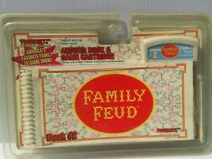 Details about Family Feud #2 Answer Book & Cartridge Tiger Electronic Hand  Held Game ToyVtg