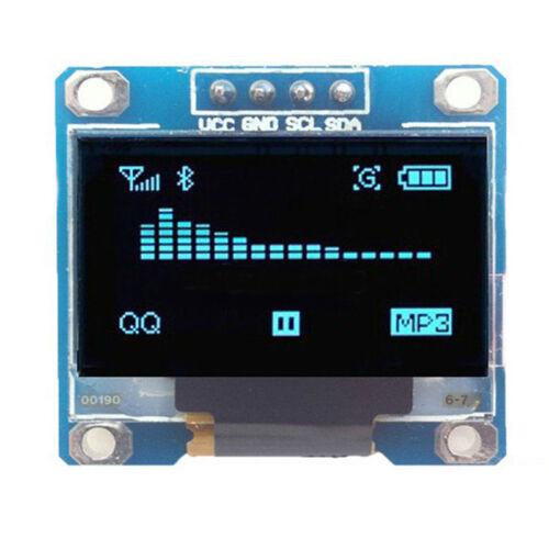 """0.96/"""" I2C IIC Serial 128X64 128*64 Blue OLED LED LCD Display Module Fr Arduino /&"""