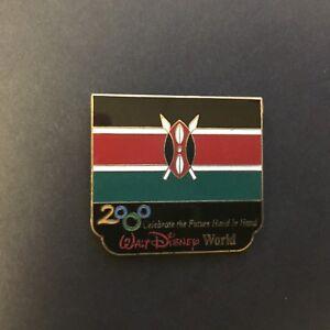 WDW-Millennium-Village-Pavilion-Kenya-2000-flag-Disney-Pin-2017