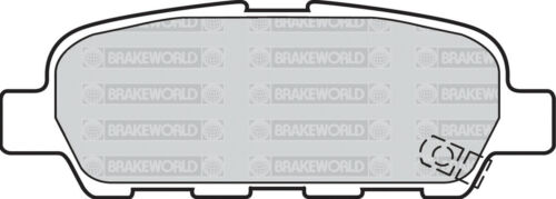 OEM SPEC REAR DISCS AND PADS 292mm FOR NISSAN X-TRAIL 2.5 2002-07
