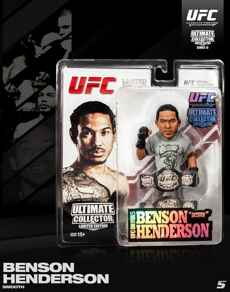 BENSON SERIES HENDERSON ROUND 5 UFC ULTIMATE COLLECTORS SERIES BENSON 13 EXCLUSIVE FIGURE c7cce4