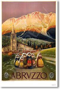 Abruzzo-Italy-NEW-Italian-Travel-European-Artwork-Print-POSTER