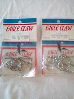 New2 Packs Eagle Claw tuna Hooks 318na Size 3/0nickel